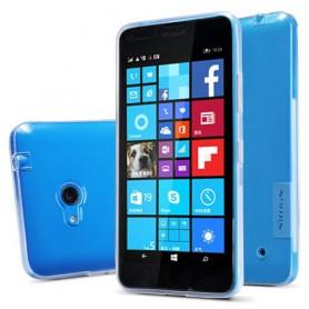 Lumia 640 ultra ohut läpinäkyvä silikonisuojus.