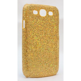 Galaxy S3 kullan värinen glitter suojakuori.