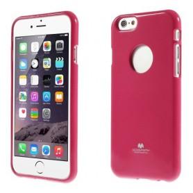 iPhone 6 roosan punainen TPU-suojakuori.
