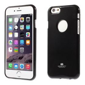 iPhone 6 musta TPU-suojakuori.