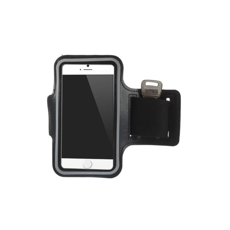 iPhone 6 musta käsivarsikotelo.