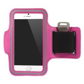 iPhone 6/6s/7/8/SE 2020 pinkki käsivarsikotelo.