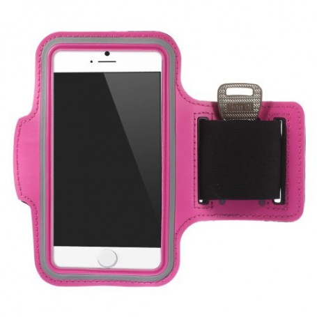 iPhone 6 pinkki käsivarsikotelo.