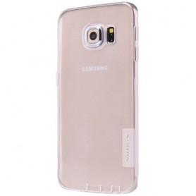 Galaxy S6 Edge ultra ohuet läpinäkyvät TPU-kuoret.