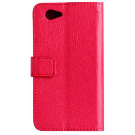 Xperia Z1 Compact punainen puhelinlompakko