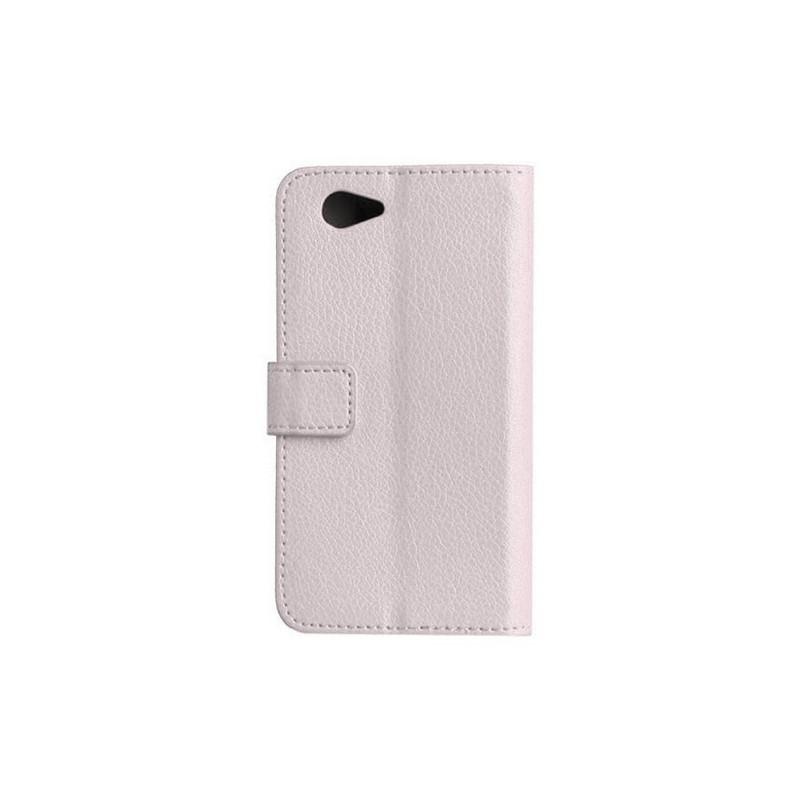 Xperia Z1 Compact valkoinen puhelinlompakko
