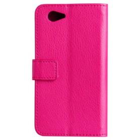 Xperia Z1 Compact hot pink puhelinlompakko