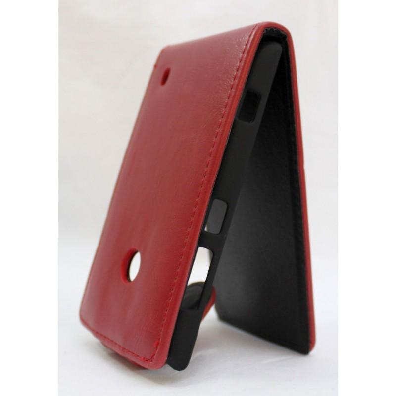 Lumia 520 punainen läppäkotelo.