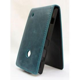 Lumia 520 sininen läppäkotelo.