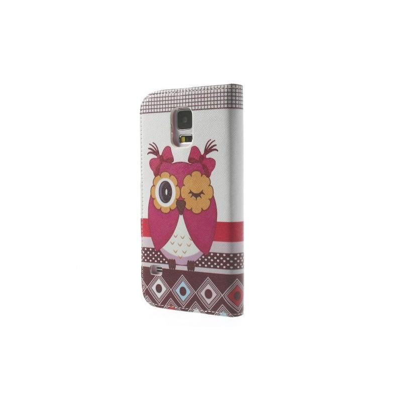 Samsung Galaxy S5 pöllö puhelinlompakko