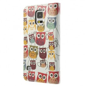 Samsung Galaxy S5 pöllöt puhelinlompakko