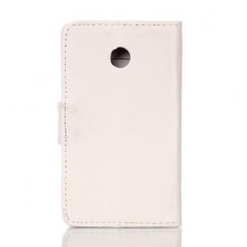 Huawei Ascend Y330 valkoinen puhelinlompakko