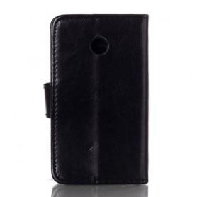 Huawei Ascend Y330 musta puhelinlompakko