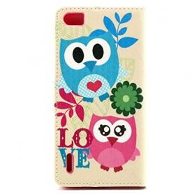 Huawei Honor 6 pöllöt puhelinlompakko