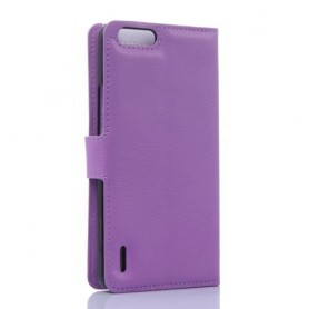 Huawei Honor 6 violetti puhelinlompakko