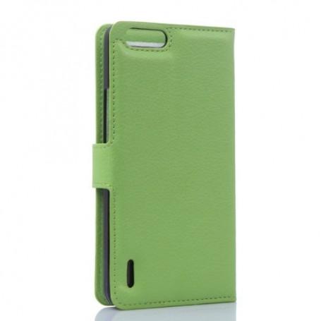 Huawei Honor 6 vihreä puhelinlompakko
