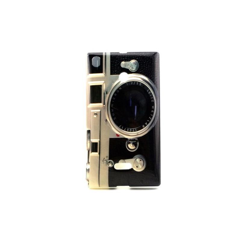 Lumia 435 kamera silikonisuojus.