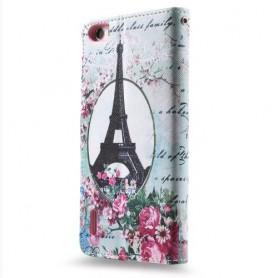 Huawei Honor 6 Eiffel-Torni puhelinlompakko