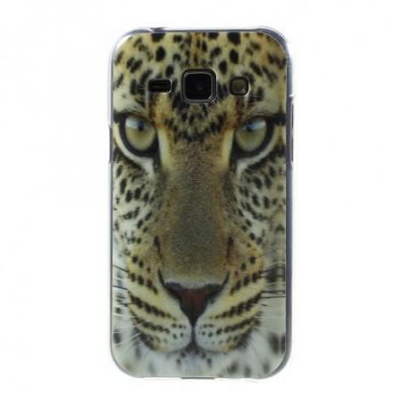 Galaxy J1 leopardi silikonisuojus.