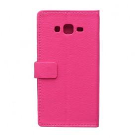 Galaxy J5 hot pink puhelinlompakko