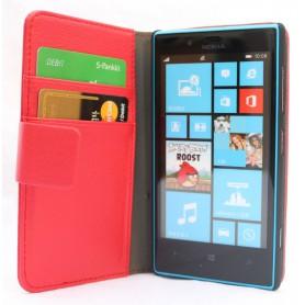 Lumia 720 punainen lompakkokotelo