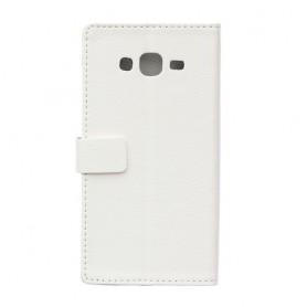 Galaxy J5 valkoinen puhelinlompakko
