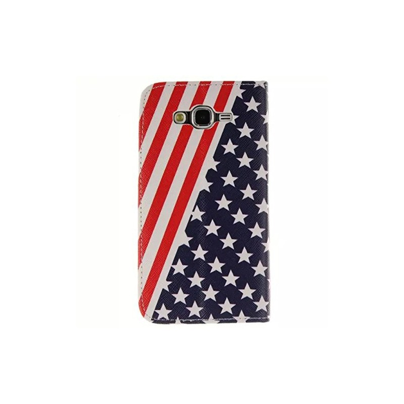 Galaxy J1 Yhdysvaltojen lippu puhelinlompakko