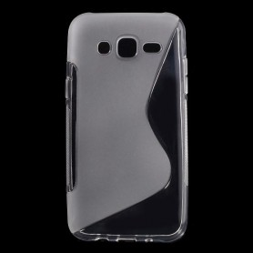 Galaxy J5 läpinäkyvä silikonisuojus.