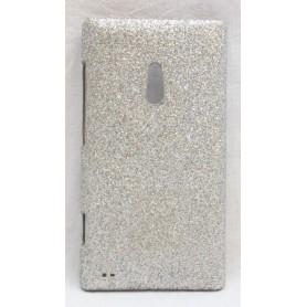 Lumia 800 hopea glitter suojakuori.