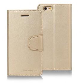 iPhone 4 sampanjan kultainen puhelinlompakko
