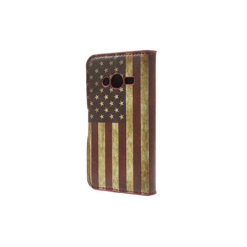 Galaxy Trend 2 Yhdysvaltojen lippu lompakkokotelo