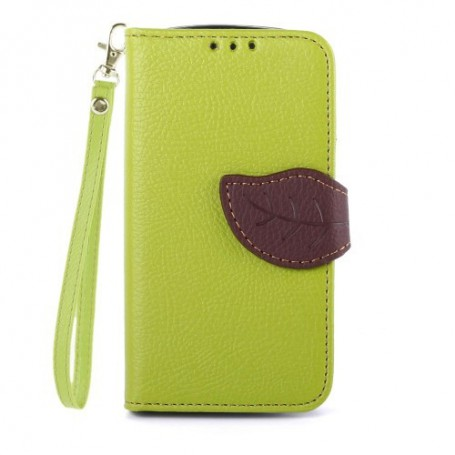 Galaxy Trend ja Trend plus vihreä lompakkokotelo