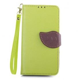 Lumia 630 ja 635 vihreä lompakkokotelo