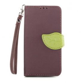 Lumia 630 ja 635 ruskea lompakkokotelo
