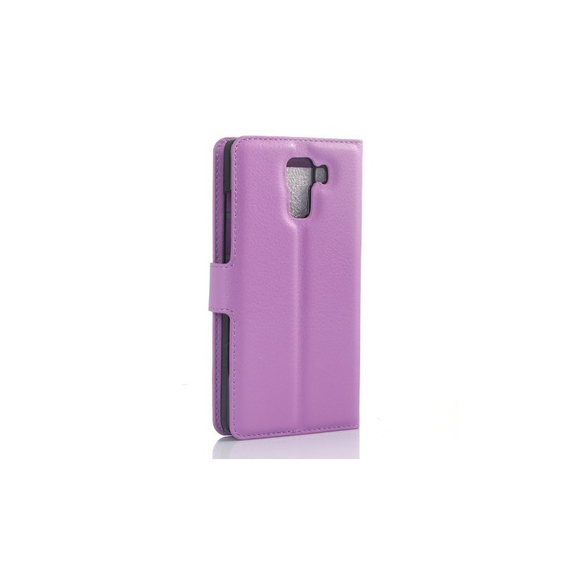 Huawei Honor 7 violetti puhelinlompakko