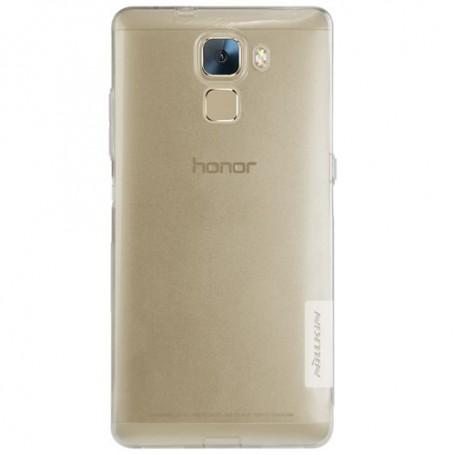 Huawei Honor 7 ultra ohuet läpinäkyvät kuoret.