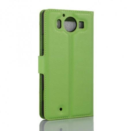 Lumia 950 vihreä puhelinlompakko