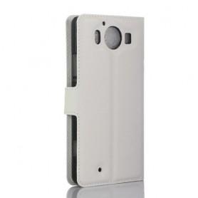 Lumia 950 valkoinen puhelinlompakko