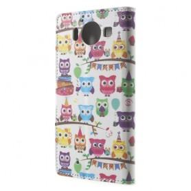 Lumia 950 pöllöt puhelinlompakko