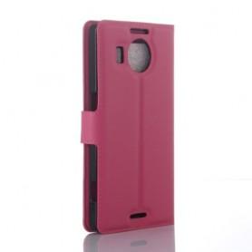 Lumia 950 XL pinkki puhelinlompakko