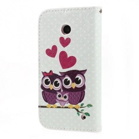 Lumia 630 pöllöperhe puhelinlompakko