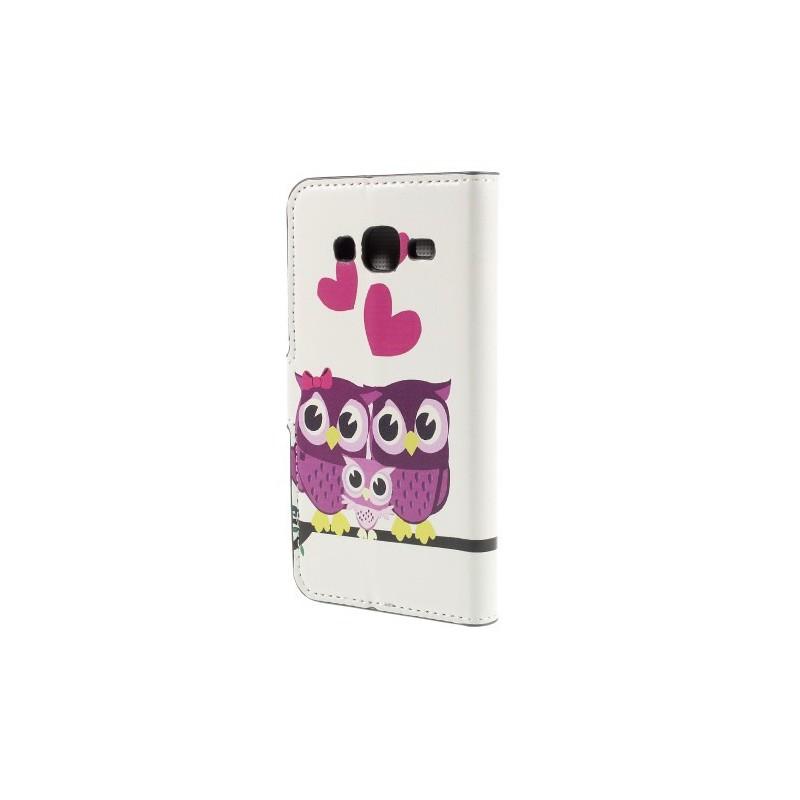 Galaxy J5 pöllöperhe puhelinlompakko