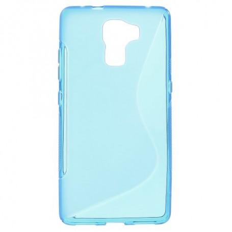 Huawei Honor 7 sininen silikonisuojus.