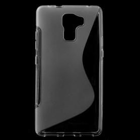 Huawei Honor 7 läpinäkyvä silikonisuojus.