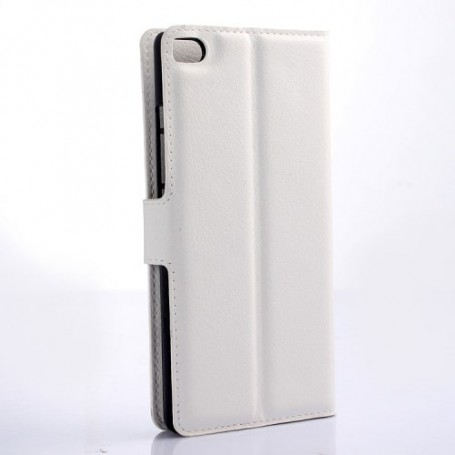 Huawei P8 Lite valkoinen puhelinlompakko