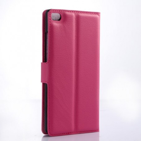 Huawei P8 Lite pinkki puhelinlompakko