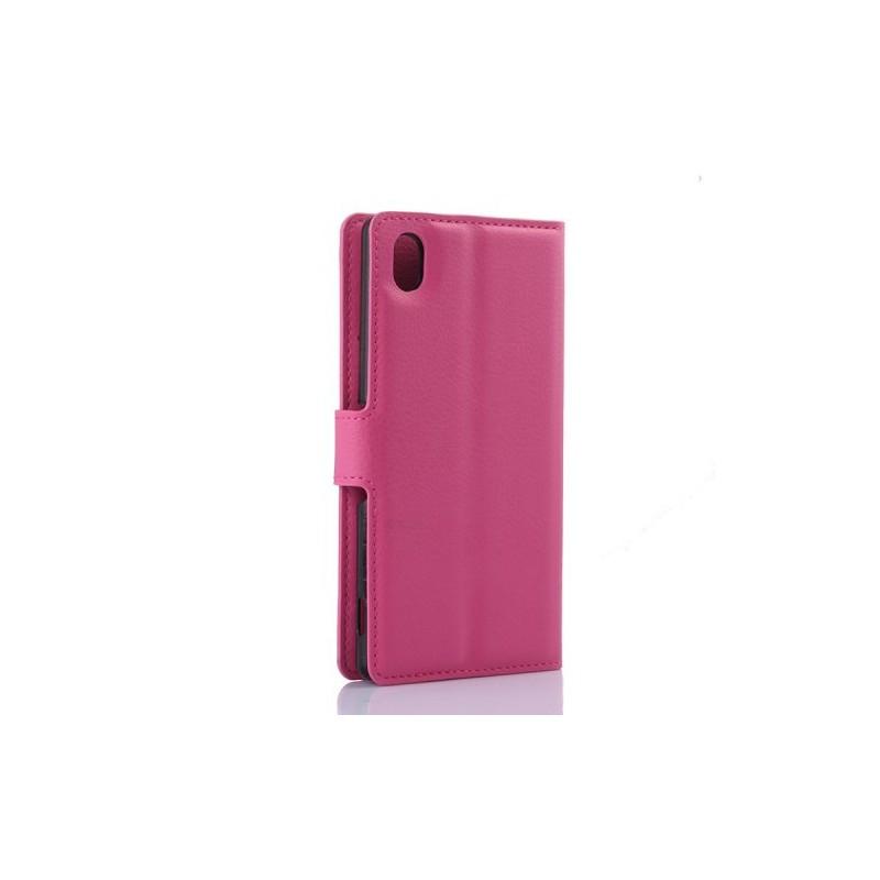 Xperia M4 Aqua hot pink puhelinlompakko