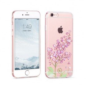iPhone 6 / 6s timanttikukka kuoret.