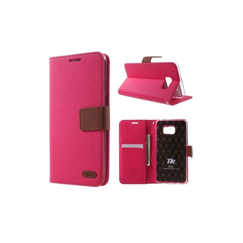 Galaxy S6 edge plus pinkki puhelinlompakko