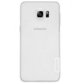 Galaxy S6 edge plus ultra ohut läpinäkyvä silikonisuojus.